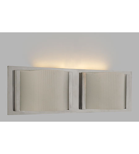 Quoizel Lighting Forme Curves 2 Light Bath Light in Polished Chrome FMCV8612C photo