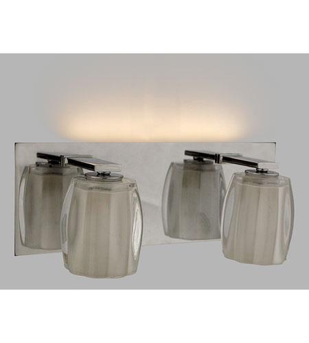 Quoizel Lighting Forme Optics 2 Light Bath Light in Polished Chrome FMOP8612C photo