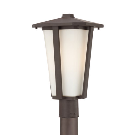 Quoizel Lighting Fenwick 1 Light Outdoor Post Lantern in Western Bronze FW9011WT photo
