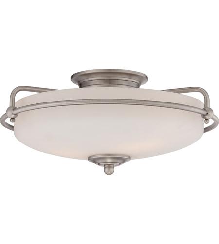 Quoizel gf1617an griffin 3 light 17 inch antique nickel flush quoizel gf1617an griffin 3 light 17 inch antique nickel flush mount ceiling light photo mozeypictures Images