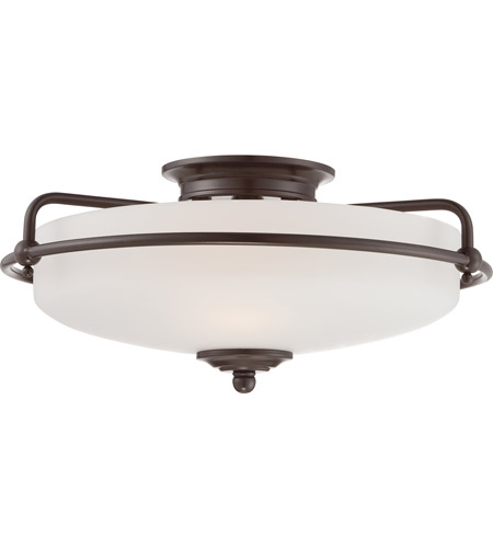 Quoizel gf1617pn griffin 3 light 17 inch palladian bronze flush quoizel gf1617pn griffin 3 light 17 inch palladian bronze flush mount ceiling light photo aloadofball