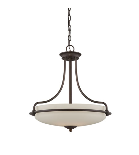 Quoizel Lighting Griffin 4 Light Pendant in Palladian Bronze GF2821PN photo