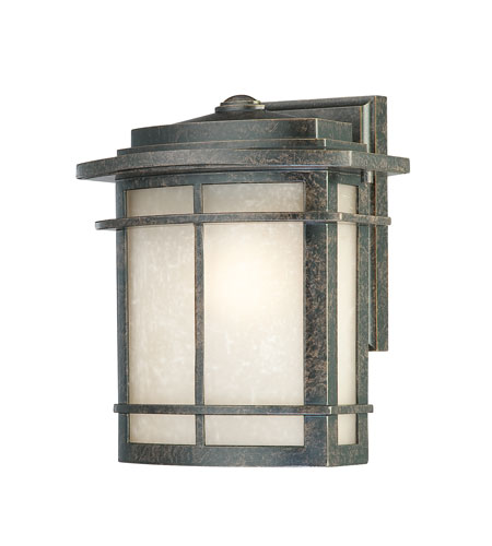 Quoizel Lighting Galen 1 Light Outdoor Wall Lantern in Imperial Bronze GLN8409IB photo
