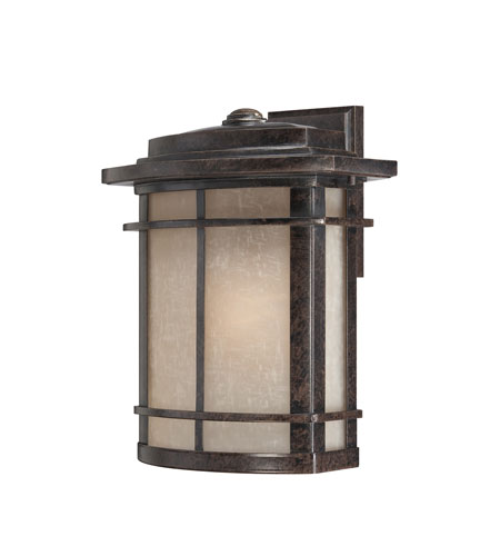 Quoizel Lighting Galen 1 Light Outdoor Wall Lantern in Imperial Bronze GLN8412IB photo