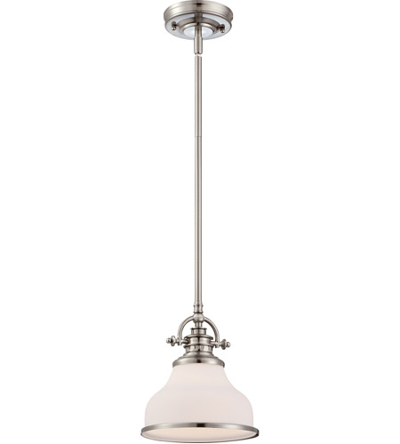 quoizel brushed mini lighting product pendant ceiling inch nickel light grant