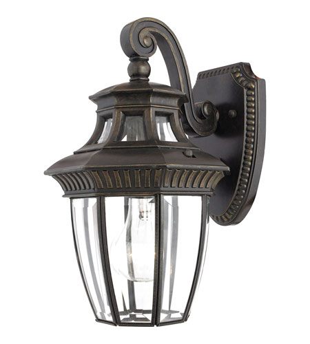 Quoizel GT8980IB Georgetown 1 Light 13 inch Imperial Bronze Outdoor Wall Lantern photo