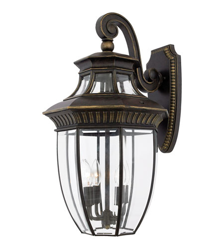 Quoizel GT8982IB Georgetown 4 Light 24 inch Imperial Bronze Outdoor Wall Lantern photo