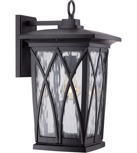 Quoizel GVR8410K Grover 1 Light 18 inch Mystic Black Outdoor Wall Lantern photo