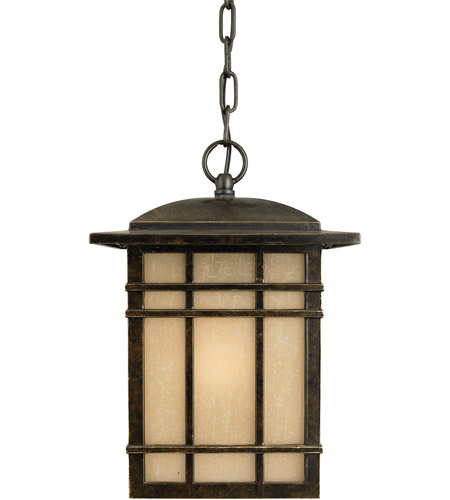 Quoizel HC1909IB Hillcrest 1 Light 9 inch Imperial Bronze Outdoor Hanging Lantern in Standard photo