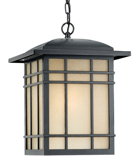 Quoizel Lighting Hillcrest 1 Light Outdoor Hanging Lantern In Imperial Bronze Hc1913ib