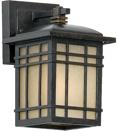 Quoizel Lighting Hillcrest 1 Light Outdoor Wall Lantern in Imperial Bronze HC8406IB photo