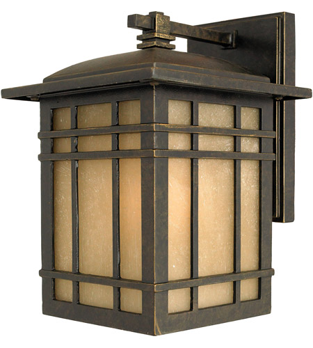 Quoizel Lighting Hillcrest 1 Light Outdoor Wall Lantern in Imperial Bronze HC8407IB
