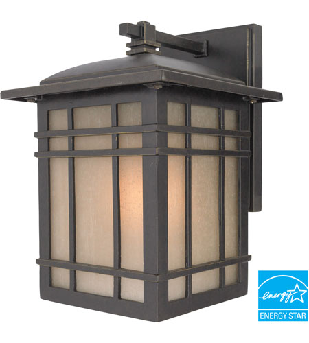 Quoizel Lighting Hillcrest 1 Light Outdoor Wall Lantern in Imperial Bronze HC8407IBFL photo