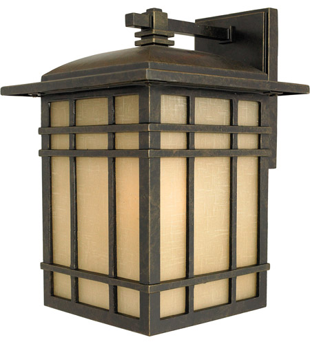 Quoizel HC8409IB Hillcrest 1 Light 13 inch Imperial Bronze Outdoor Wall Lantern in Standard photo