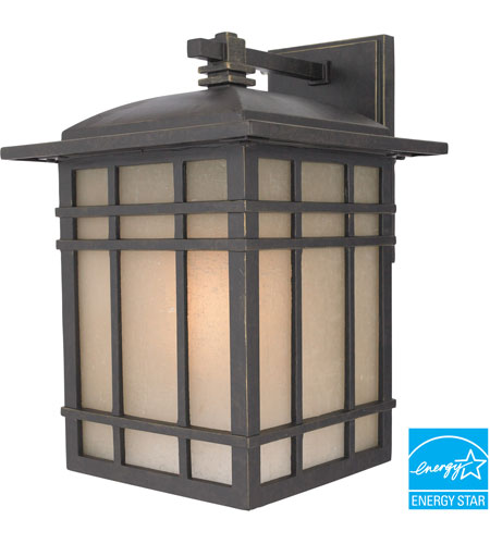 Quoizel Lighting Hillcrest 1 Light Outdoor Wall Lantern in Imperial Bronze HC8409IBFL photo