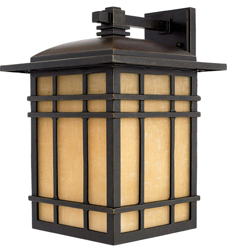Quoizel HC8411IB Hillcrest 1 Light 16 inch Imperial Bronze Outdoor Wall Lantern in Standard photo