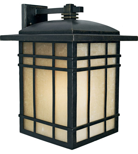 Quoizel HC8413IB Hillcrest 1 Light 17 inch Imperial Bronze Outdoor Wall Lantern in Standard photo