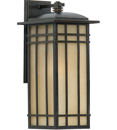 Quoizel HCE8409IB Hillcrest 1 Light 20 inch Imperial Bronze Outdoor Wall Lantern photo