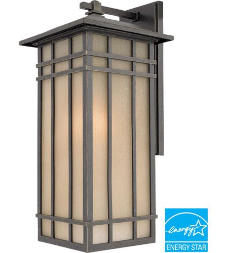 Quoizel HCE8409IBFL Hillcrest 1 Light 20 inch Imperial Bronze Outdoor Wall Lantern in Fluorescent photo