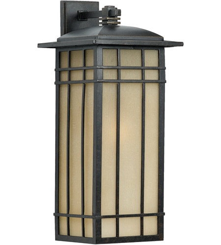 Quoizel Lighting Hillcrest 1 Light Outdoor Wall Lantern in Imperial Bronze HCE8411IB photo