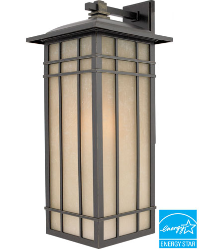 Quoizel HCE8411IBFL Hillcrest 1 Light 25 inch Imperial Bronze Outdoor Wall Lantern in Fluorescent photo
