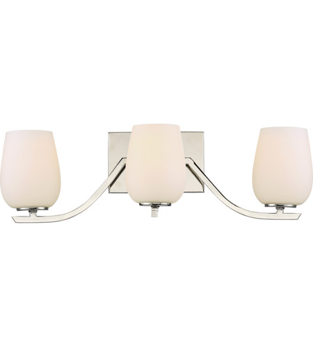 Quoizel HLD8603PK Holland 3 Light 22 Inch Polished Nickel Bath Light Wall  Light