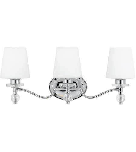 Quoizel Hs8603c Hollister 3 Light 23 Inch Polished Chrome Bath Light Wall Light