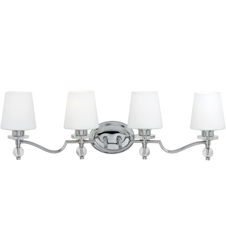 Quoizel HS8604C Hollister 4 Light 33 inch Polished Chrome Bath Light Wall Light photo