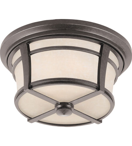 Quoizel Lighting Harmony 2 Light Outdoor Flush Mount in Imperial Bronze HY1614IB photo
