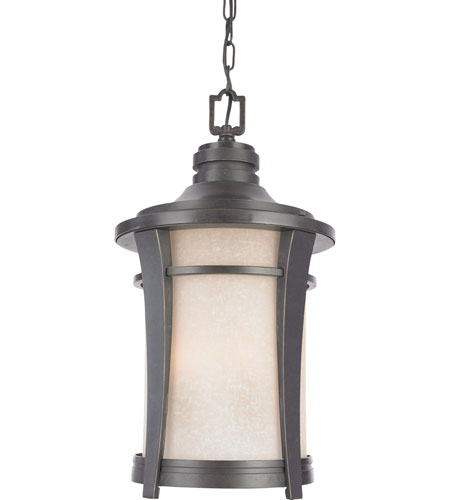 Quoizel Lighting Harmony 3 Light Outdoor Hanging Lantern in Imperial Bronze HY1911IB photo