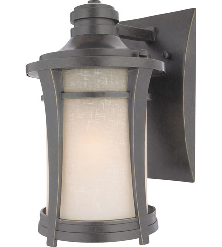 Quoizel Lighting Harmony 1 Light Outdoor Wall Lantern in Imperial Bronze HY8407IB photo
