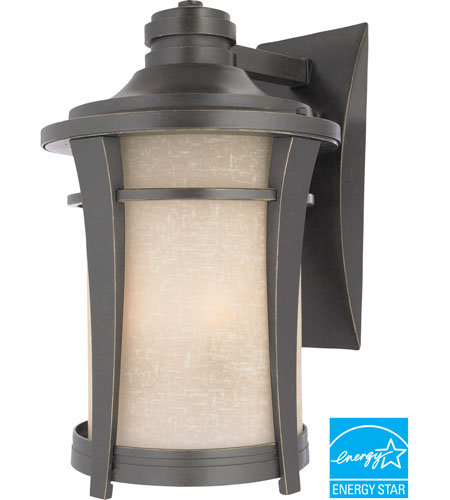 Quoizel Lighting Harmony 1 Light Outdoor Wall Lantern in Imperial Bronze HY8411IBFL photo