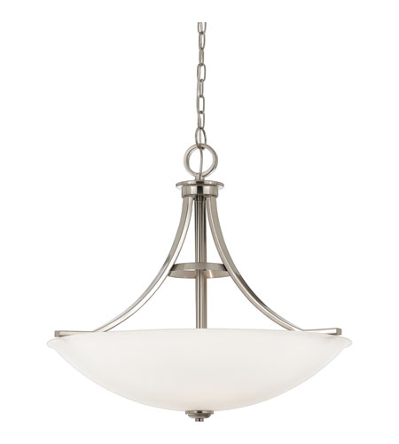 Quoizel Lighting Ibsen 4 Light Pendant in Brushed Nickel IE2825BN photo