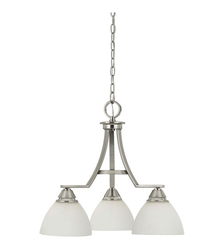 Quoizel Lighting Ibsen 3 Light Chandelier in Brushed Nickel IE5103BN photo