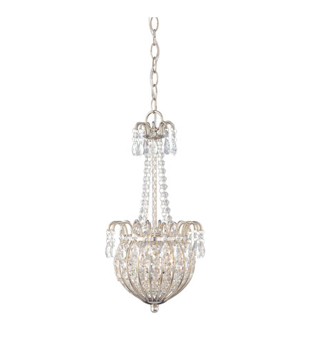 Quoizel JLE2809IS Jolene 2 Light 9 inch Imperial Silver Pendant Ceiling Light photo