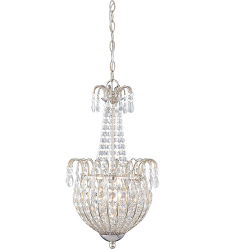 Quoizel JLE2812IS Jolene 3 Light 12 inch Imperial Silver Pendant Ceiling Light photo