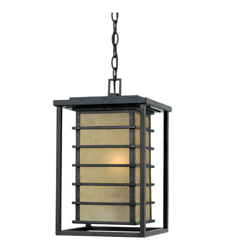 Quoizel Lighting Jonathan 1 Light Outdoor Hanging Lantern in Imperial Bronze JO1910IB photo