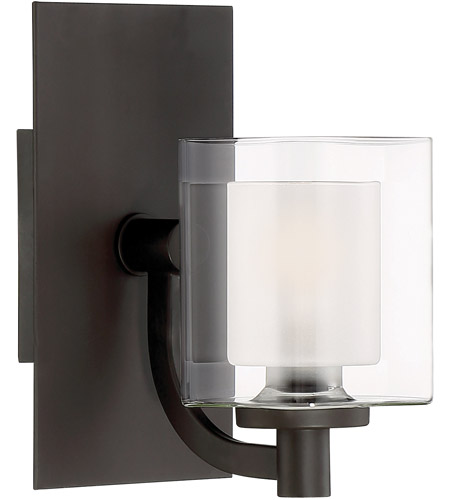western bathroom lighting quoizel klt8601wtled kolt led 8 inch western bronze bath 15038