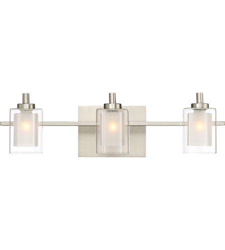 Quoizel KLT8603BNLED Kolt LED 21 Inch Brushed Nickel Bath Light Wall Light