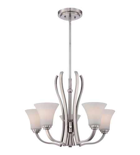 Quoizel KPR5005BN Kemper 6 Light 25 inch Brushed Nickel Chandelier Ceiling Light photo