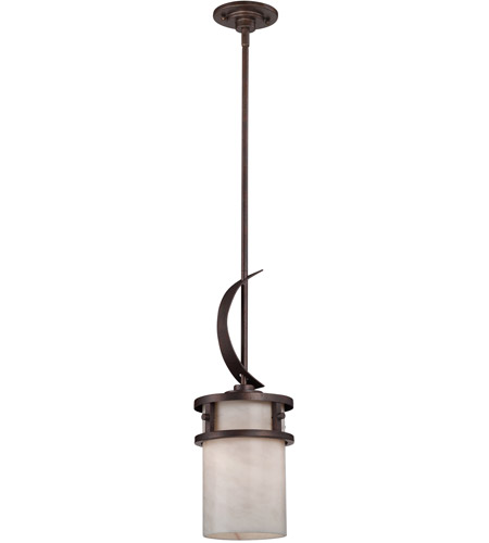 Quoizel Lighting Kyle 1 Light Mini Pendant in Iron Gate KY1507IN photo