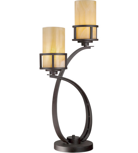 Quoizel lighting kyle 2 light table lamp in imperial bronze ky6328ib quoizel ky6328ib kyle 30 inch 100 watt imperial bronze table lamp portable light photo aloadofball Images