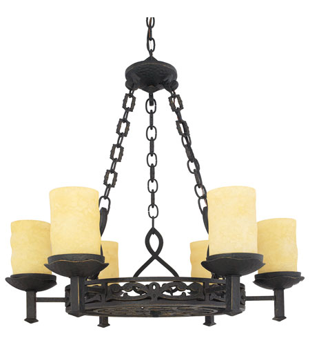 Quoizel LP5006IB La Parra 6 Light 28 inch Imperial Bronze Chandelier Ceiling Light photo