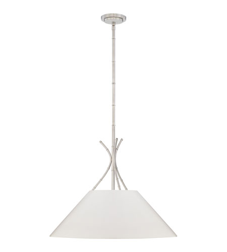 Quoizel Lighting Epoch 3 Light Pendant in Brushed Nickel LSP1826BN3 photo