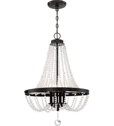 Livery 4 Light 21 Inch Western Bronze Pendant Ceiling
