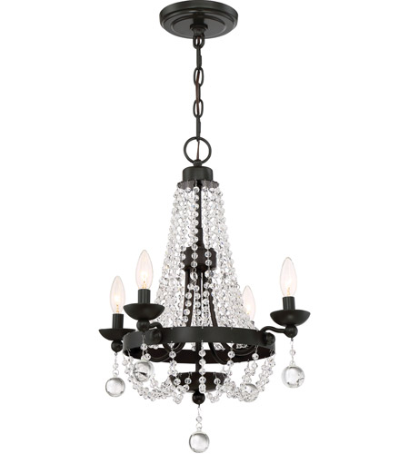 Quoizel lvy5004wt livery 4 light 18 inch western bronze chandelier quoizel lvy5004wt livery 4 light 18 inch western bronze chandelier ceiling light aloadofball Image collections