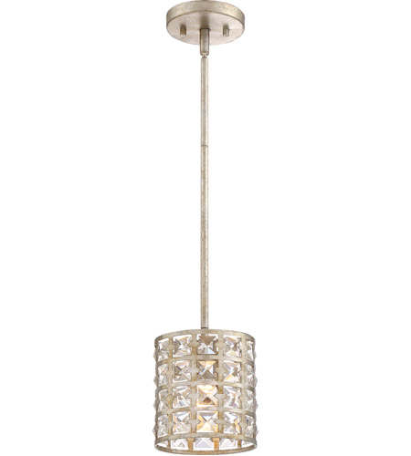 Quoizel Lxy1506vg Luxury 1 Light 7 Inch Vintage Gold Mini Pendant Ceiling Rod Hung