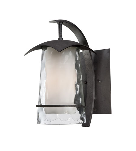 Quoizel Lighting Mayfair 1 Light Outdoor Wall Lantern in Iron Age MAF8407IR photo