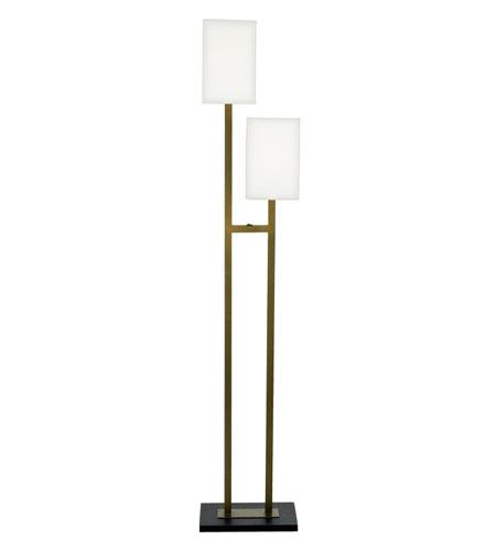 Quoizel Lighting Marriott 2 Light Floor Lamp In Custom Contract Mar271j