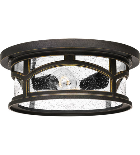 Quoizel MBH1613PN Marblehead 2 Light 13 inch Palladian Bronze Outdoor Flush Mount photo